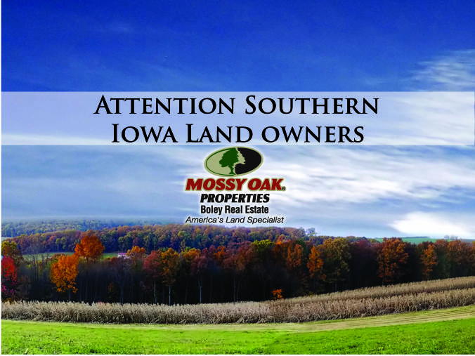 Attention Southern Iowa Land Owners