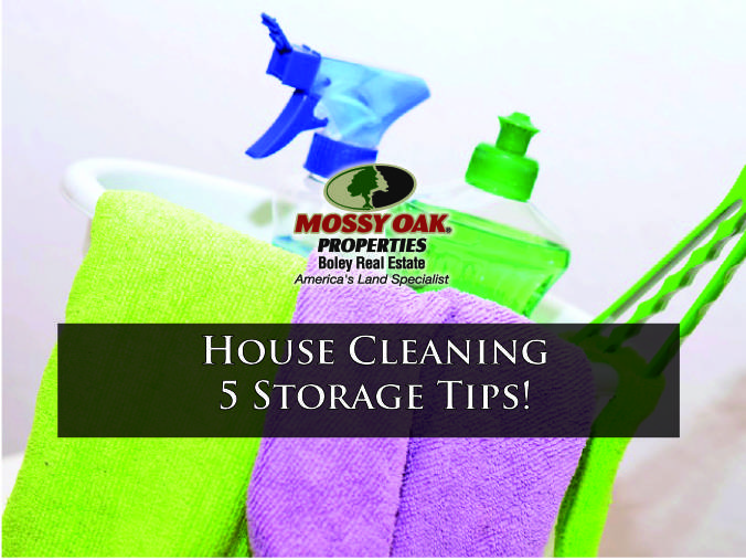 House Cleaning 5 Storage Tips