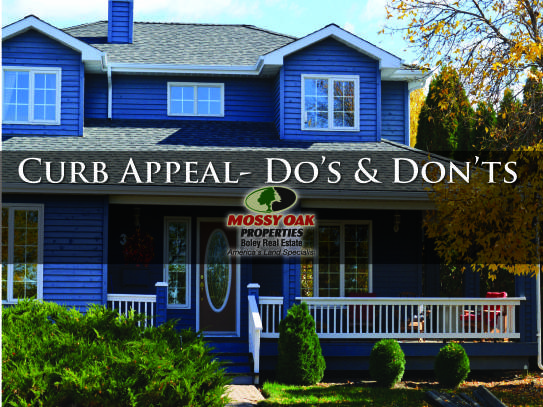Curb Appeal- Do's and Don'ts
