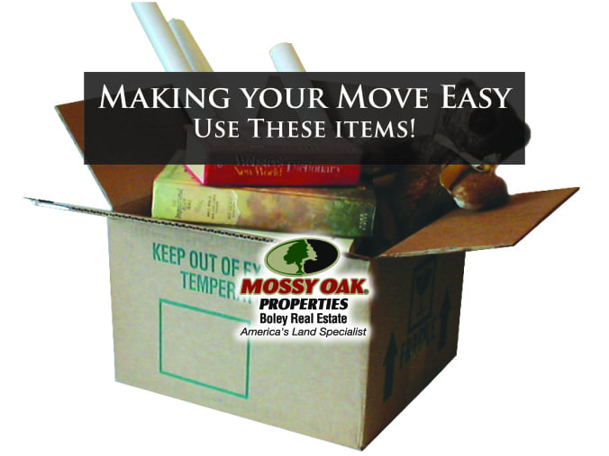 Making Your Move Easy-Use These Items!