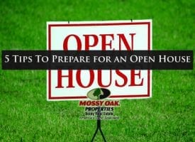 5 Tips To Prepare For An Open House