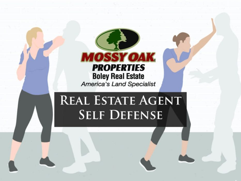 Mossy Oak Properties Agents Learn Self Defense