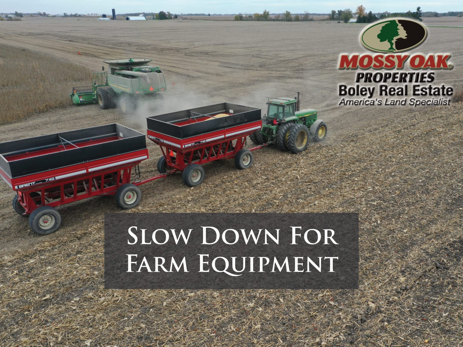 It is harvest season, time to slow down.