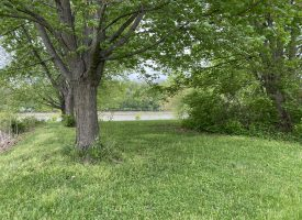 Lot for sale along the Des Moines River in Keosauqua, IA