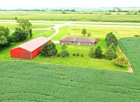 3BR/2BA Home & 10 acres for sale in rural Batavia, IA